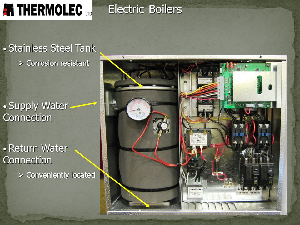 Electric Boilers Stainless Steel Tank Corrosion resistant