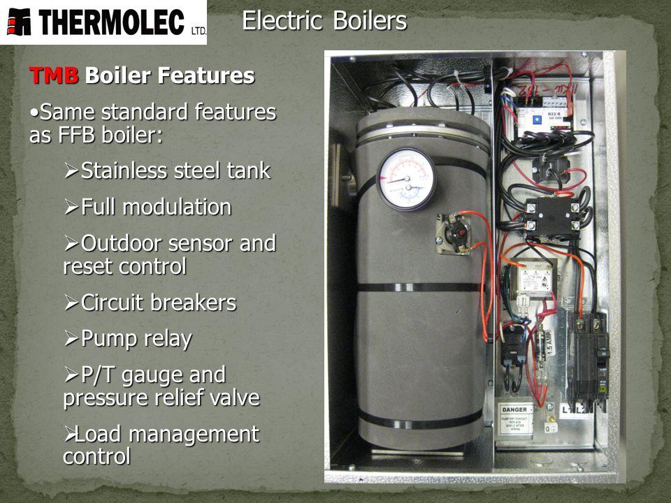 Electric Boilers TMB Boiler Features