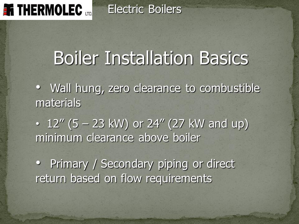 Boiler Installation Basics