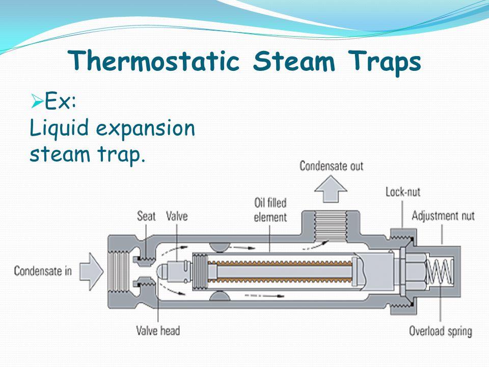 Thermostatic Steam Traps