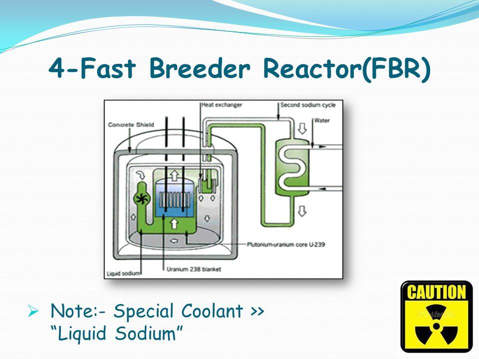 4-Fast Breeder Reactor(FBR)