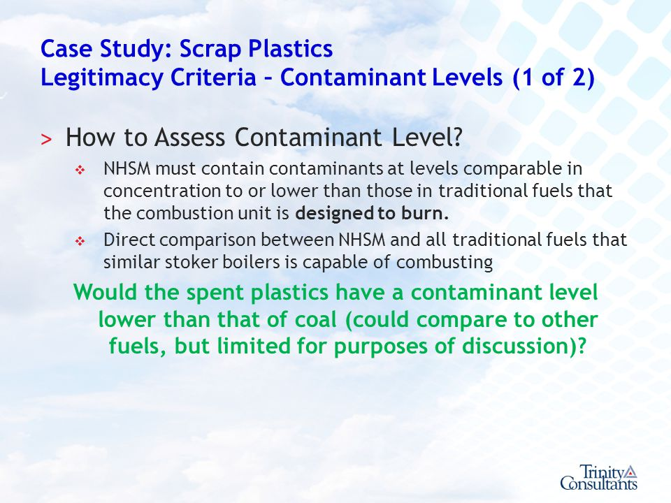 How to Assess Contaminant Level
