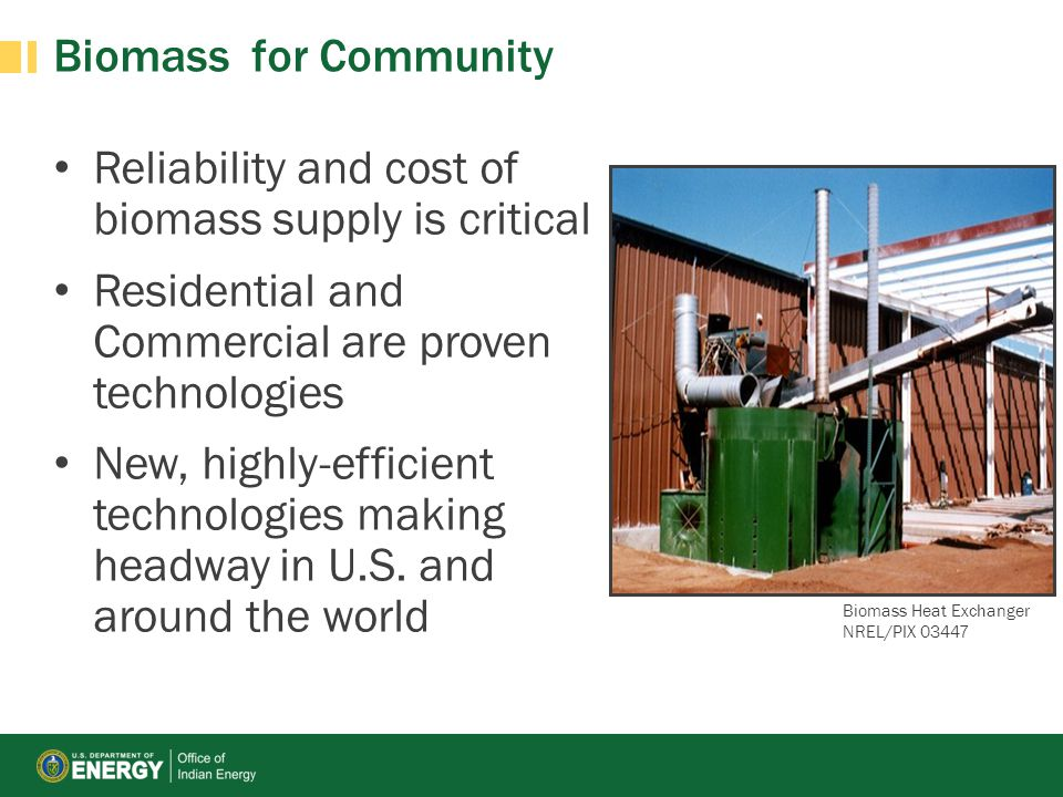 Reliability and cost of biomass supply is critical