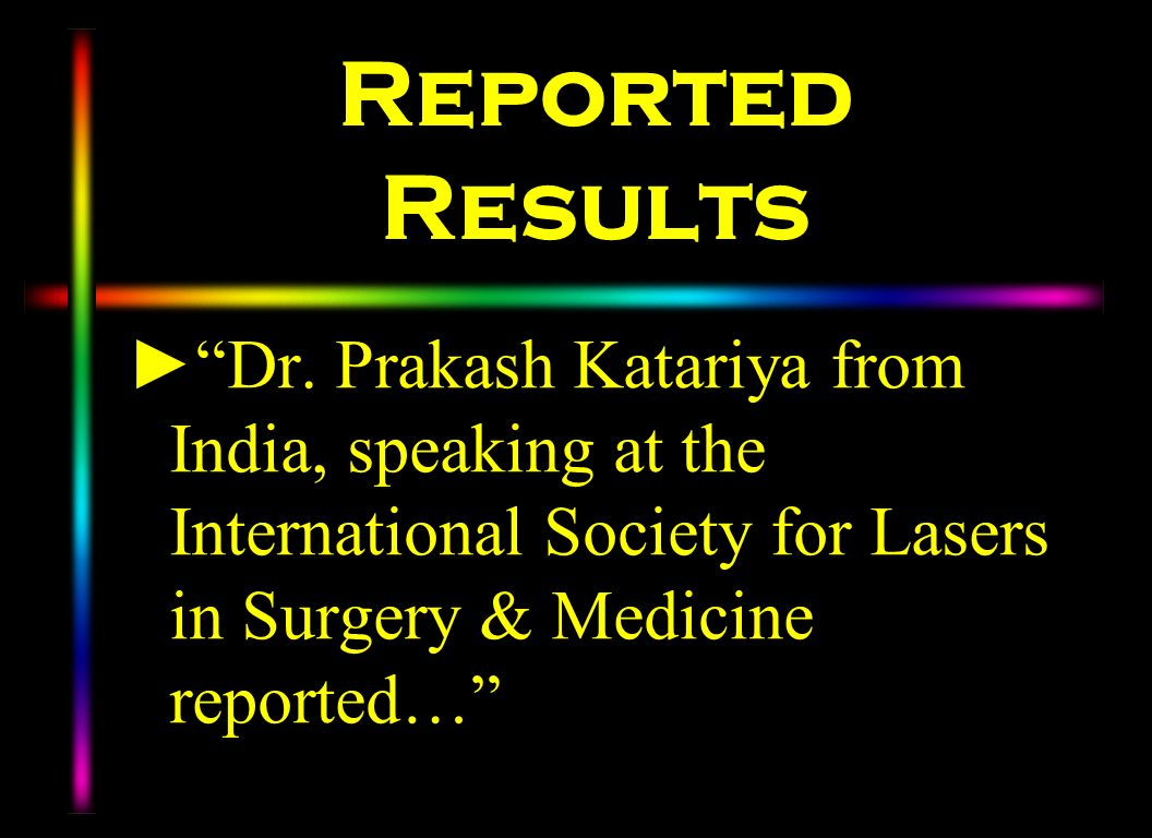 Reported Results