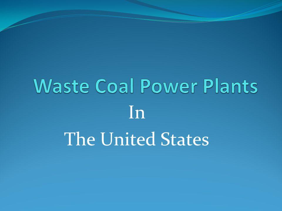 Waste Coal Power Plants