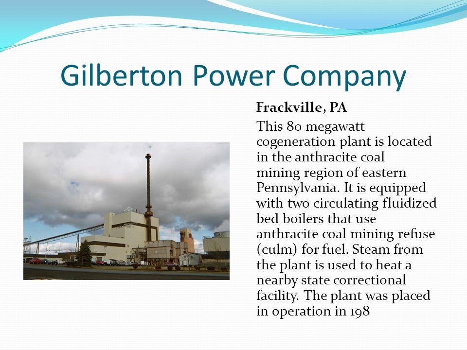 Gilberton Power Company