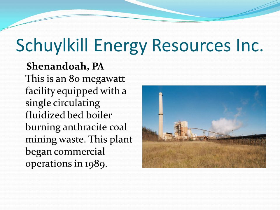 Schuylkill Energy Resources Inc.