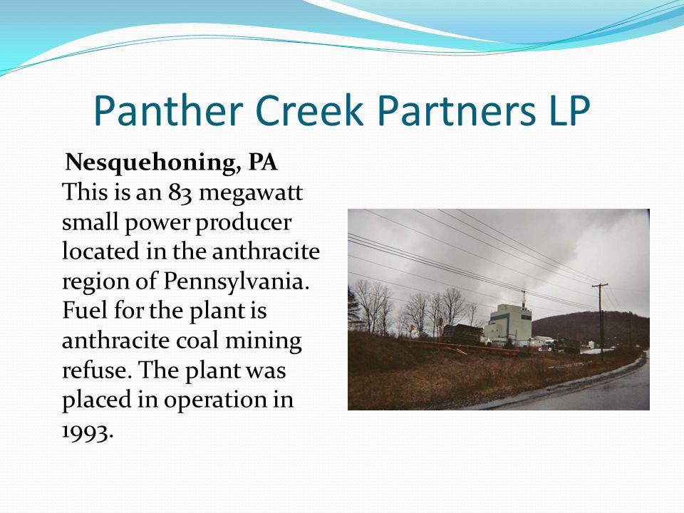 Panther Creek Partners LP