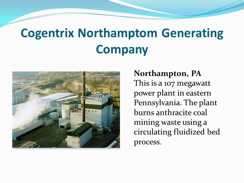 Cogentrix Northamptom Generating Company
