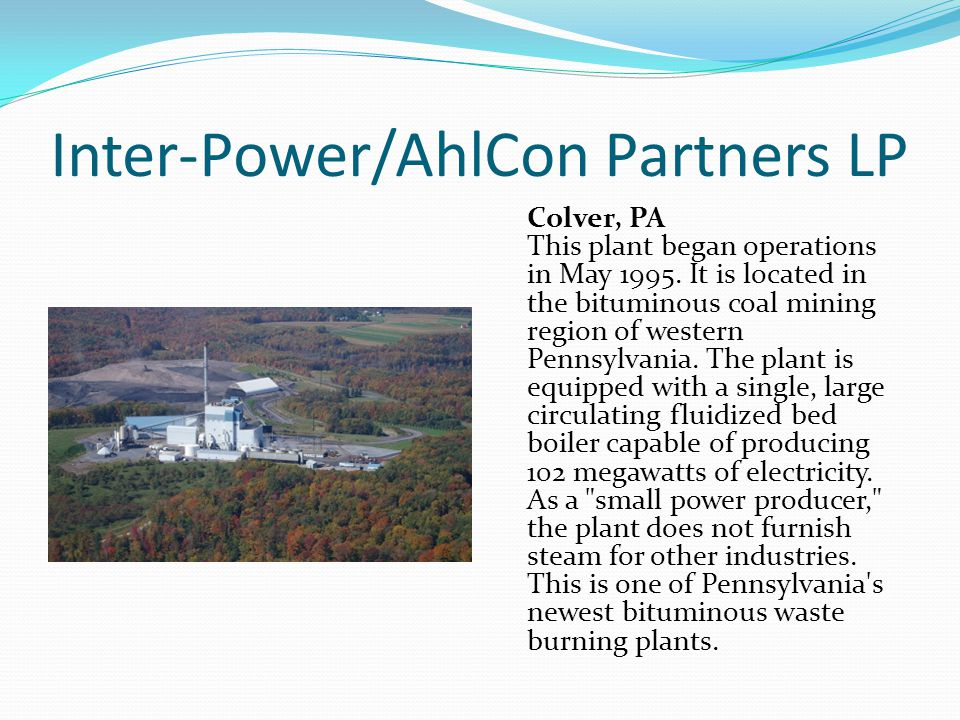 Inter-Power/AhlCon Partners LP