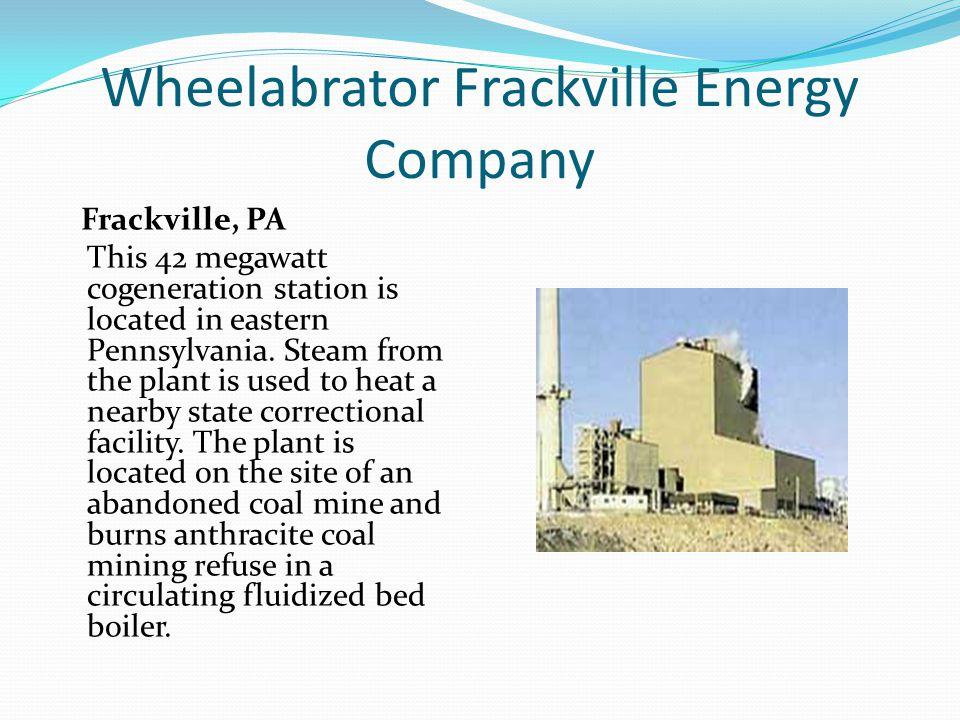 Wheelabrator Frackville Energy Company