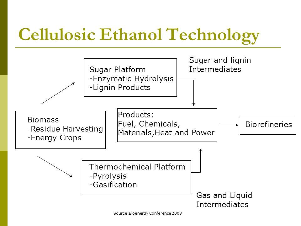 Cellulosic Ethanol Technology