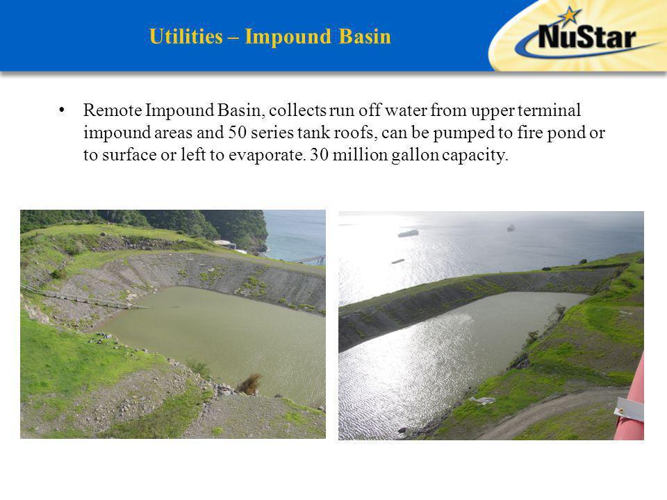 Utilities – Impound Basin