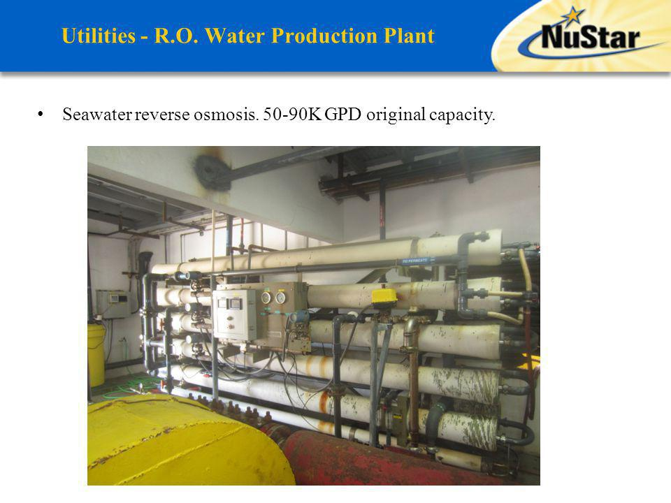 Utilities - R.O. Water Production Plant
