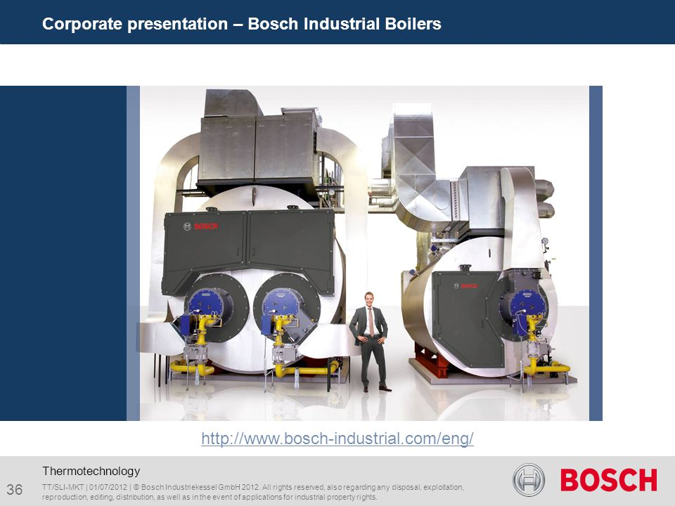 Corporate presentation – Bosch Industrial Boilers