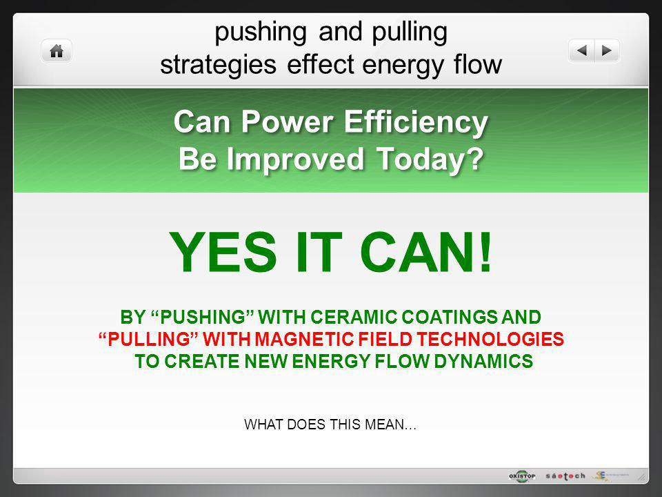YES IT CAN! Can Power Efficiency Be Improved Today
