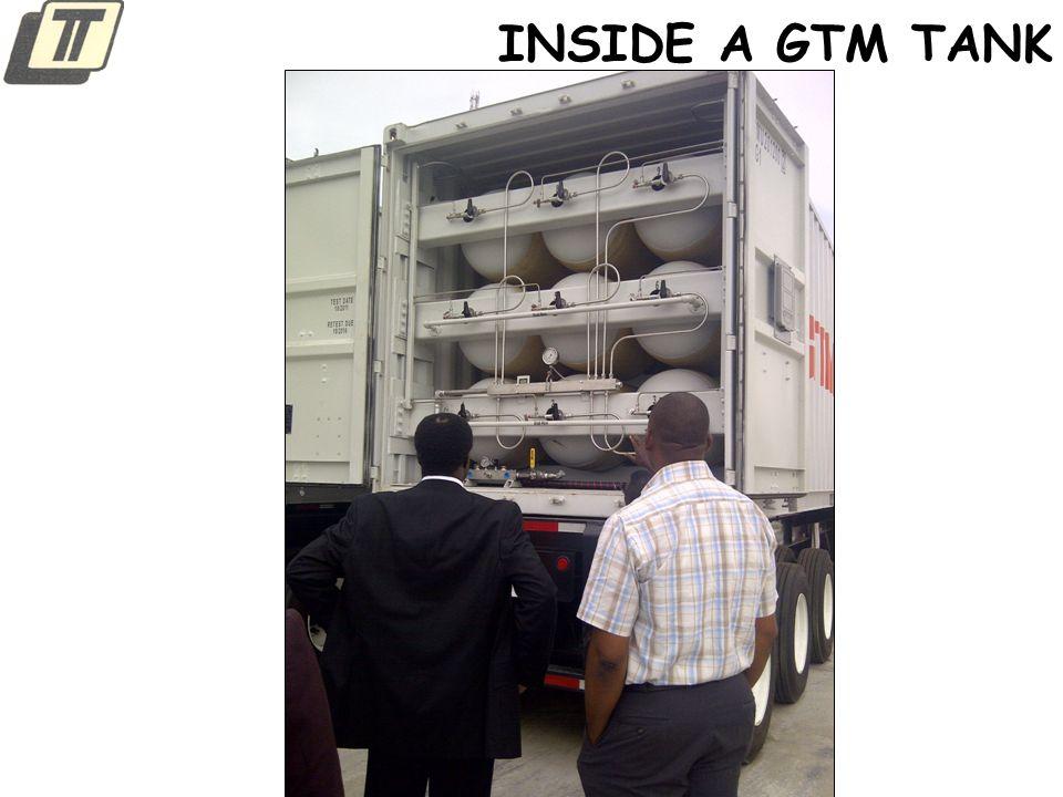 INSIDE A GTM TANK