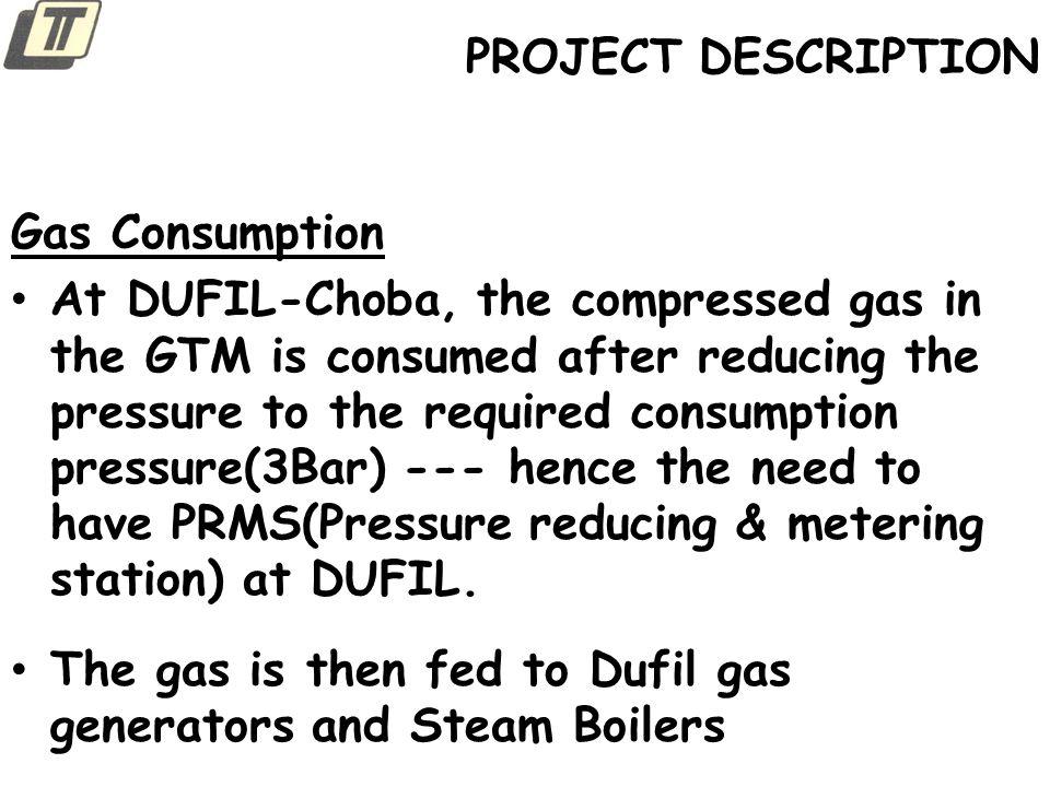 PROJECT DESCRIPTION Gas Consumption.