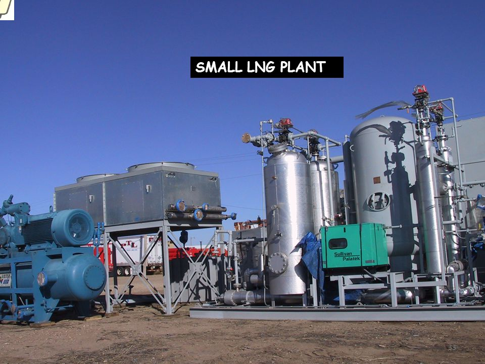 SMALL LNG PLANT