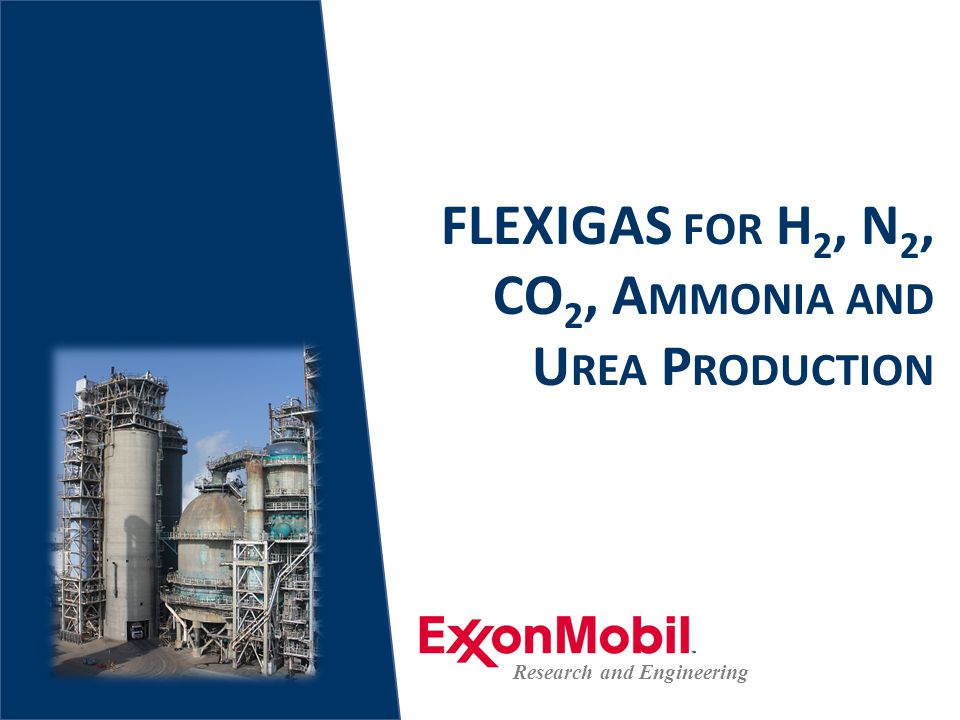 Flexibility of H2, CO2, NH3, Urea and Power Production From FLEXIGAS