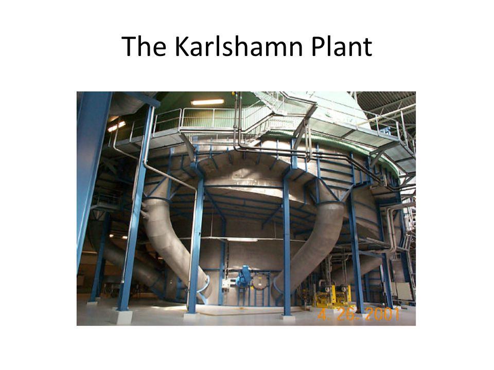 The Karlshamn Plant