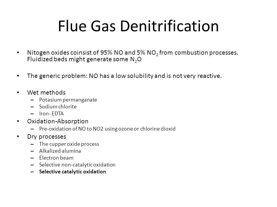 Flue Gas Denitrification