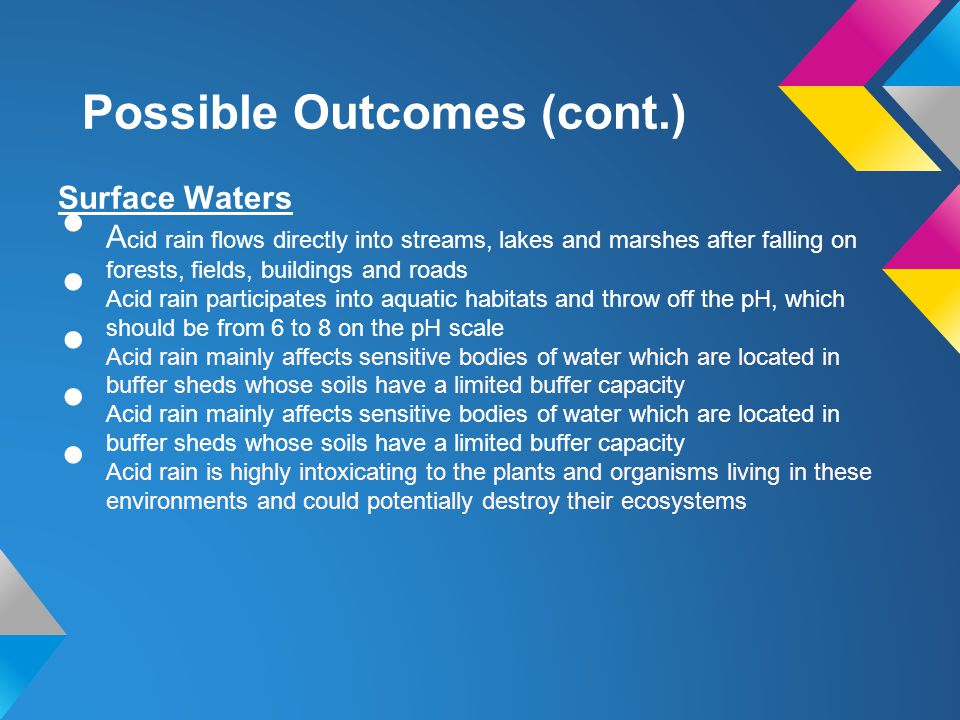 Possible Outcomes (cont.)