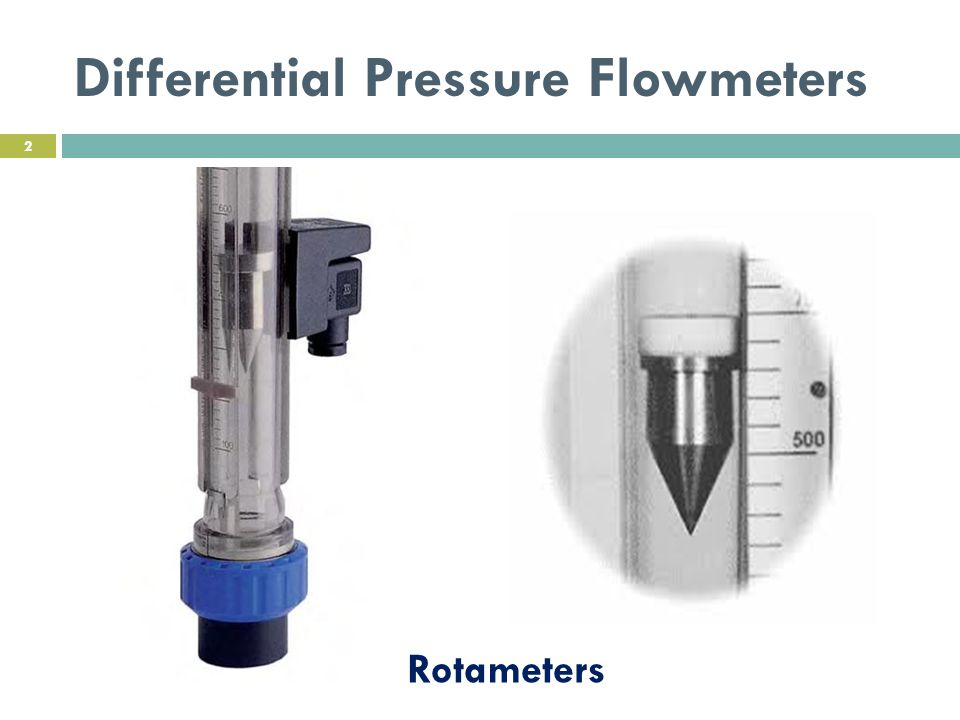 Differential Pressure Flowmeters