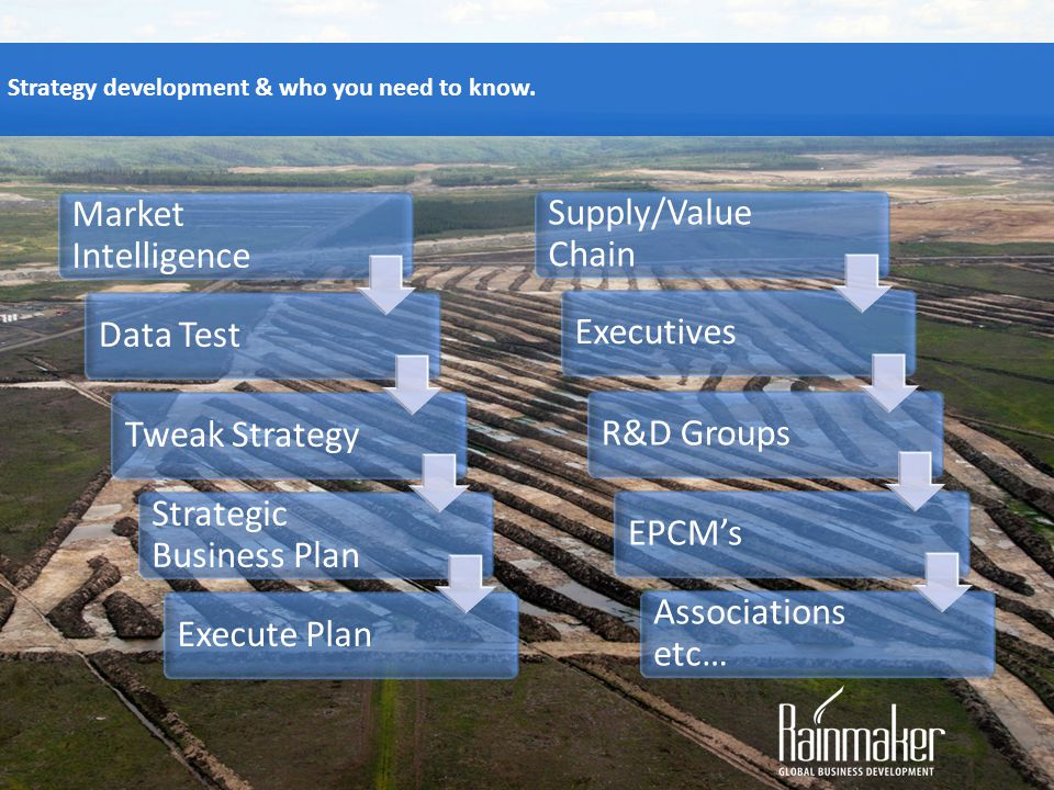 Strategic Business Plan Execute Plan Supply/Value Chain Executives