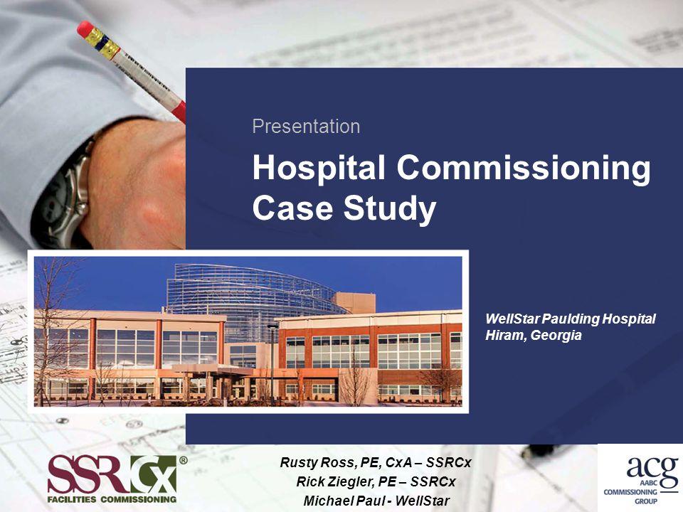 Hospital Commissioning Case Study