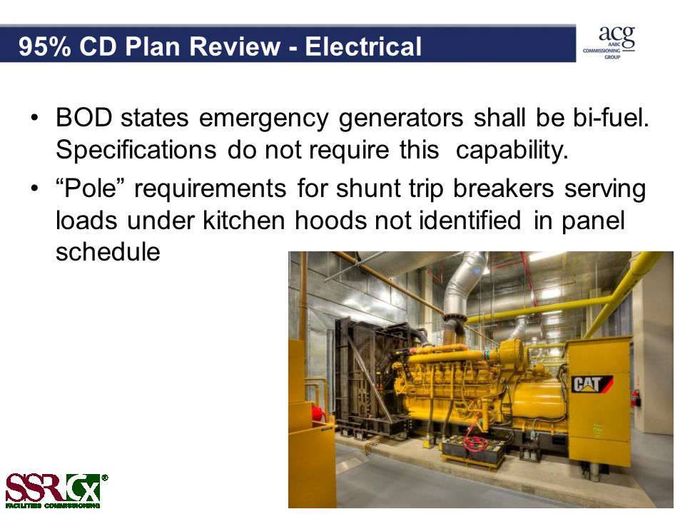 95% CD Plan Review - Electrical