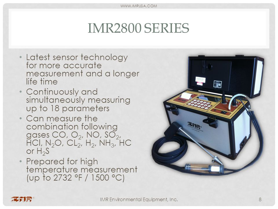 IMR Environmental Equipment, Inc.