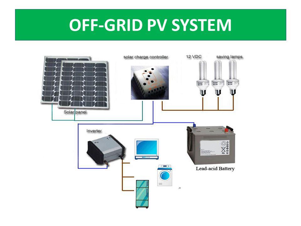 OFF-GRID PV SYSTEM