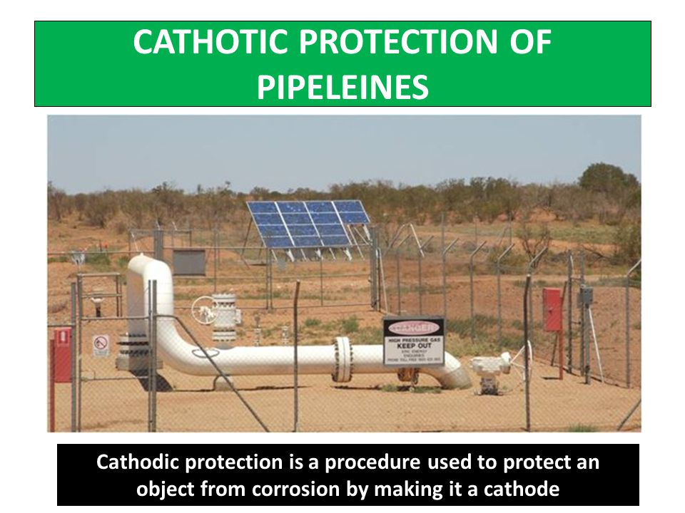 CATHOTIC PROTECTION OF PIPELEINES