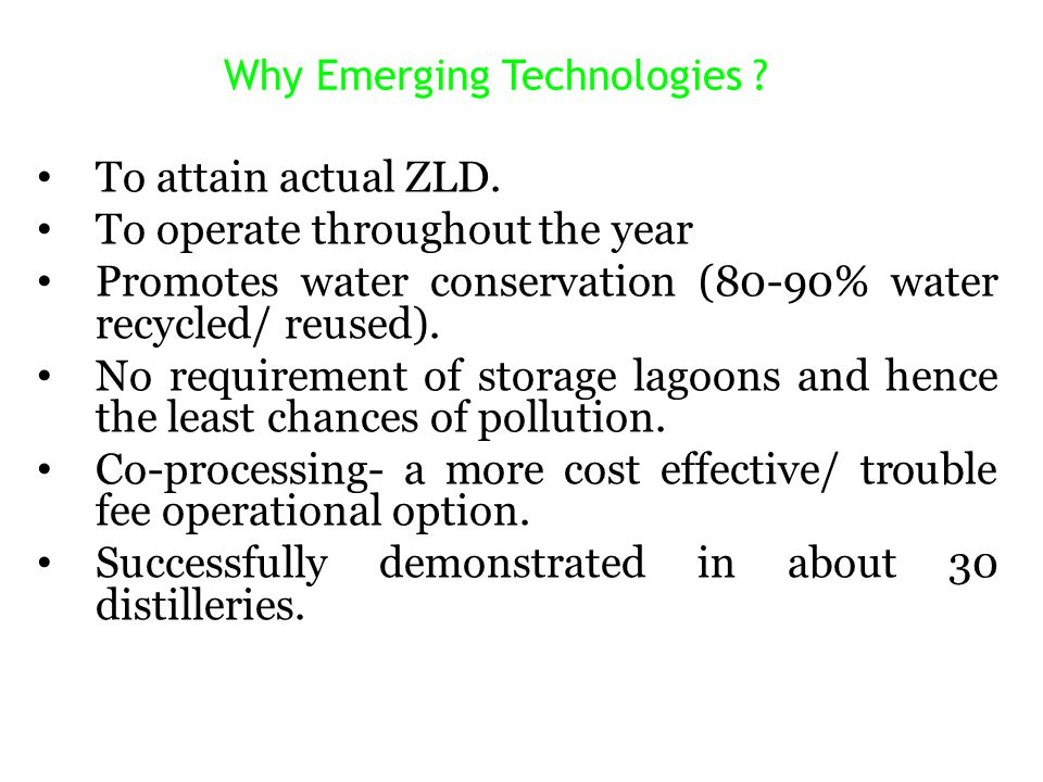 Why Emerging Technologies