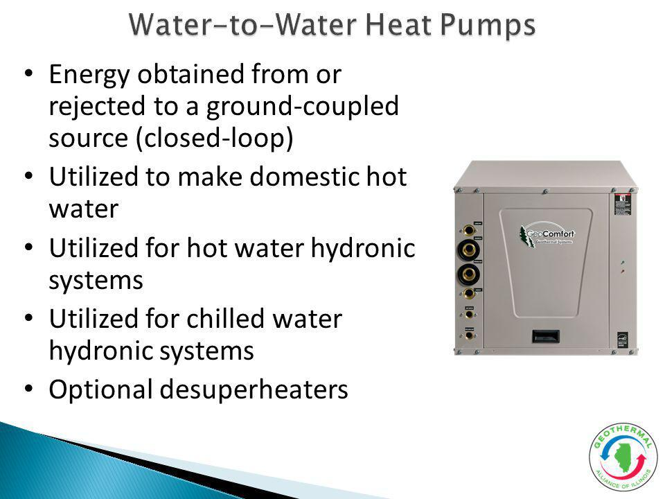 Water-to-Water Heat Pumps