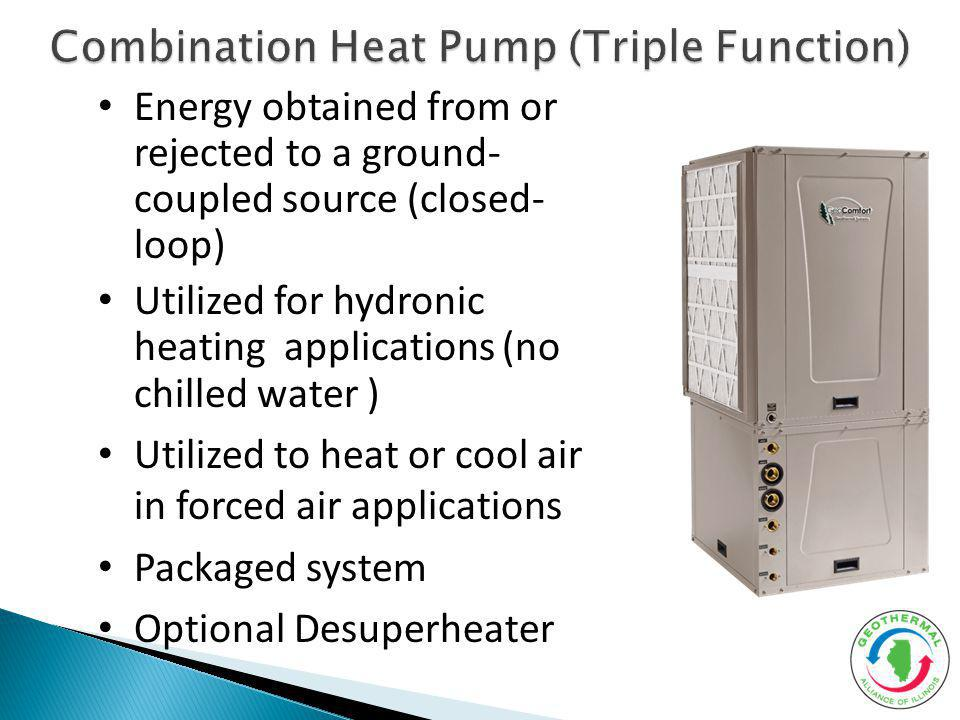 Combination Heat Pump (Triple Function)