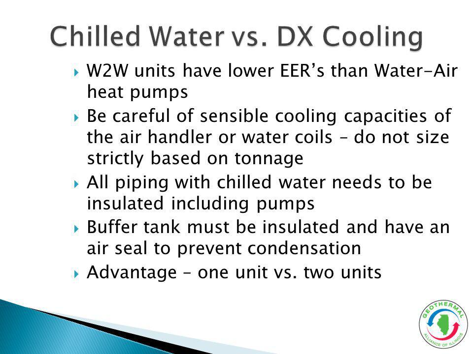 Chilled Water vs. DX Cooling