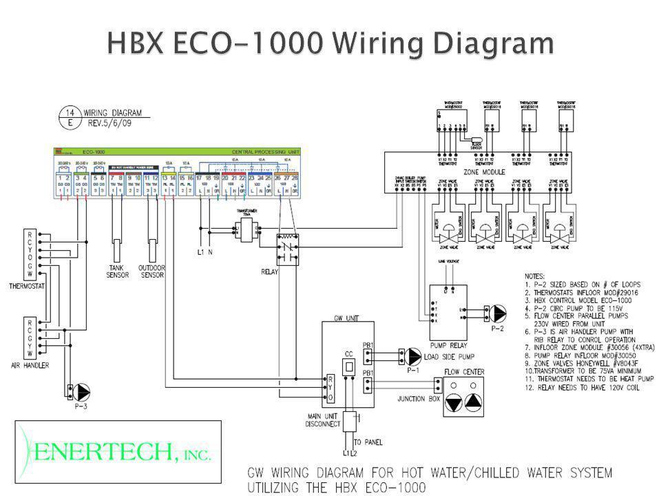 HBX ECO-1000 Wiring Diagram