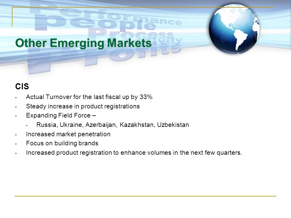 Other Emerging Markets