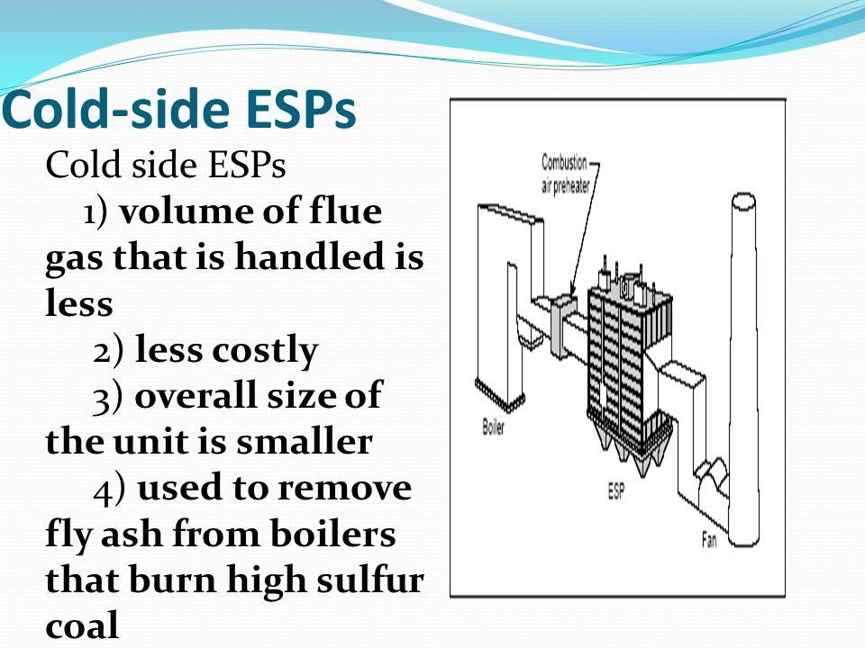 Cold-side ESPs Cold side ESPs