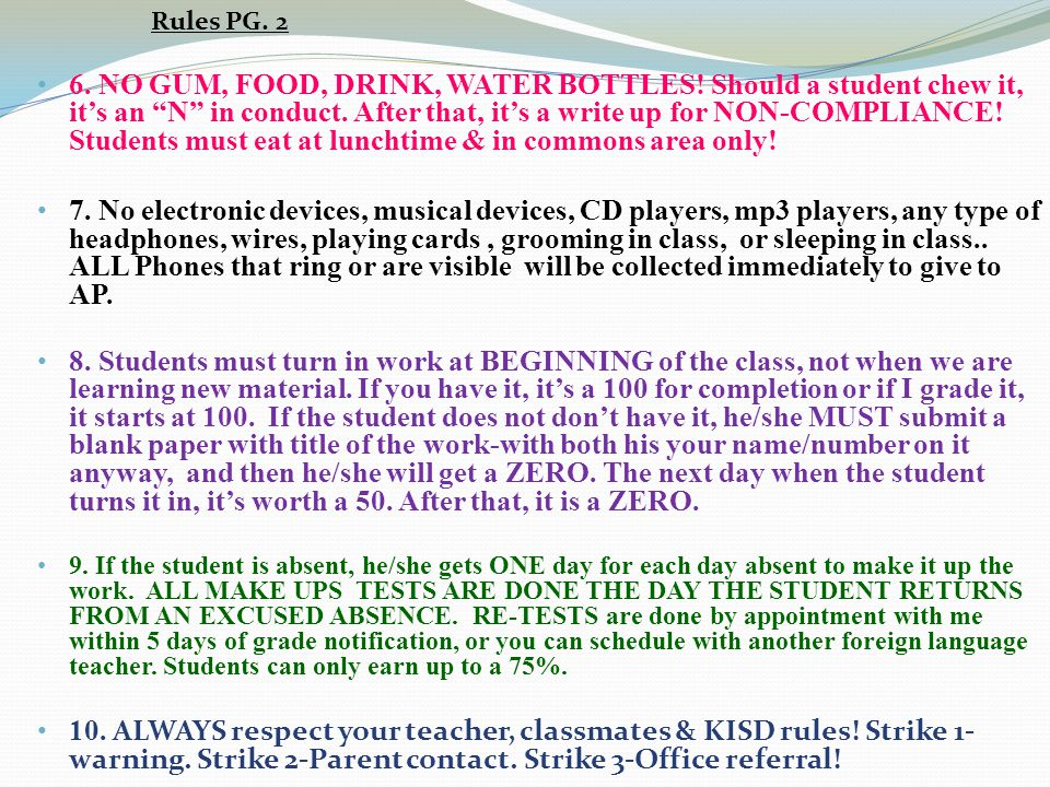 Rules PG. 2