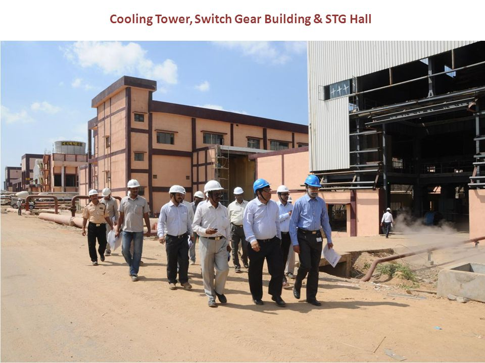 Cooling Tower, Switch Gear Building & STG Hall
