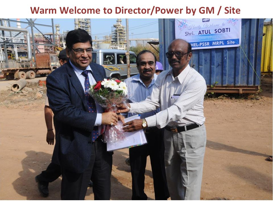 Warm Welcome to Director/Power by GM / Site