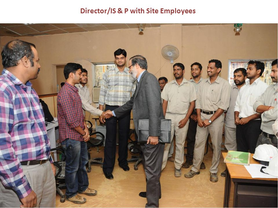Director/IS & P with Site Employees