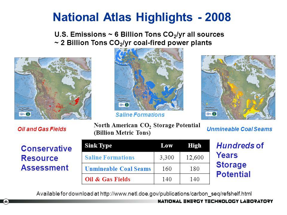 National Atlas Highlights - 2008