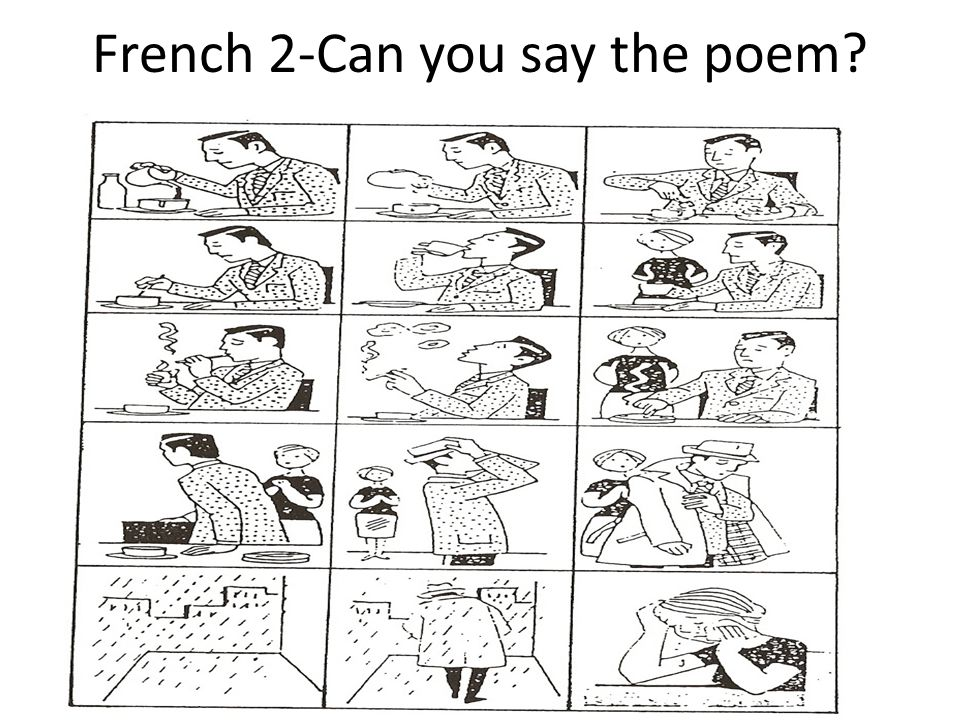 French 2-Can you say the poem
