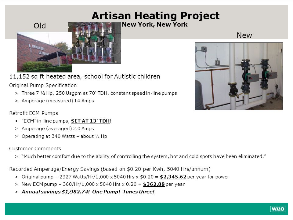 Artisan Heating Project