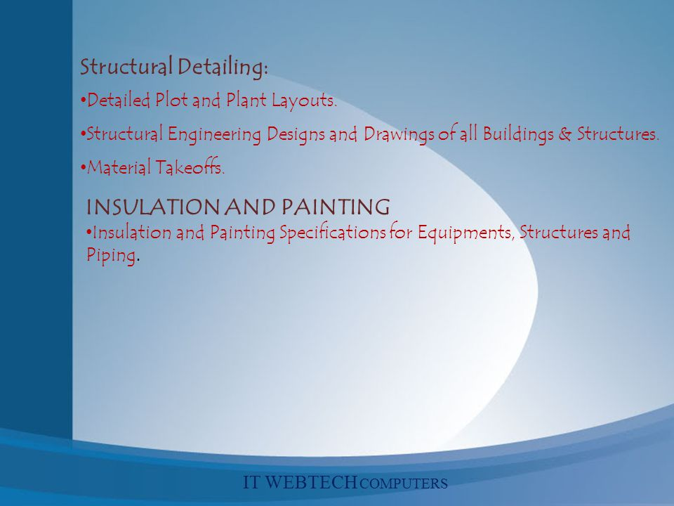 Structural Detailing: