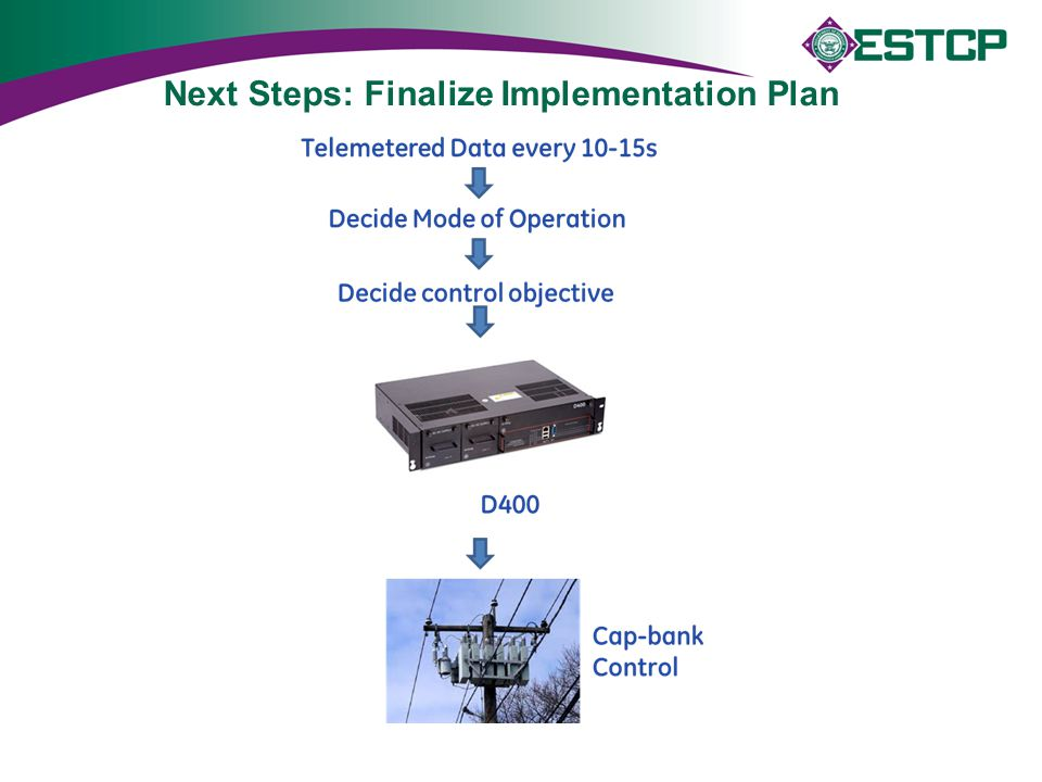 Next Steps: Finalize Implementation Plan